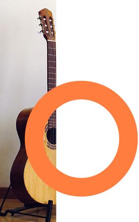 Bild einer Gitarre